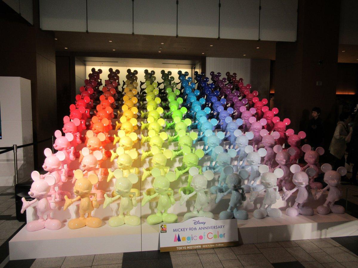 東京ミッドタウン・ミッキーマウス